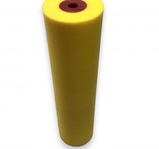 Corrugated urethane rollers