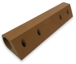 Counterbored Urethane Bumpers
