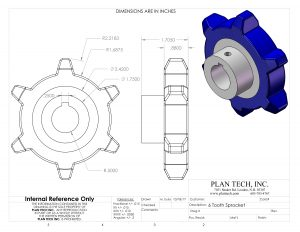 Cast Urethane Parts AutoCAD