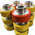 Urethane load rollers