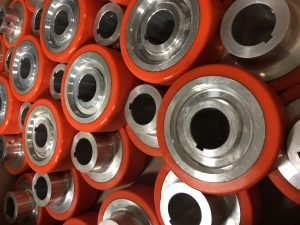 Polyurethane Escalator Wheels