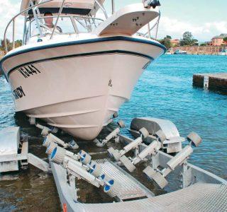 Urethane V-Rollers For Boat Trailers