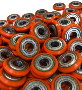Slotted Urethane Wheels