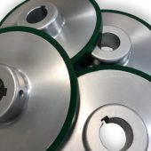 Material Handling Systems Utilizing Cast Urethane Parts